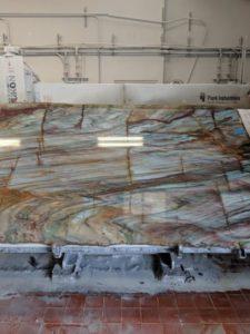 new look quartz slab