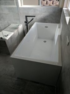 single bathtub